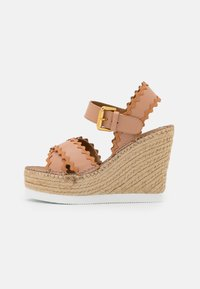 See by Chloé - GLYN - Platform sandals - nude - 1