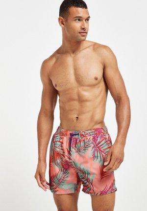 FLORAL PRINT - Szorty kąpielowe - pink