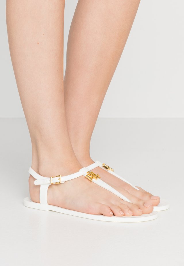 ASHTYN - Teensandalen - optic white