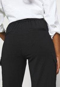 Vero Moda Petite - VMEVA STRING PANT  - Tracksuit bottoms - black - 5