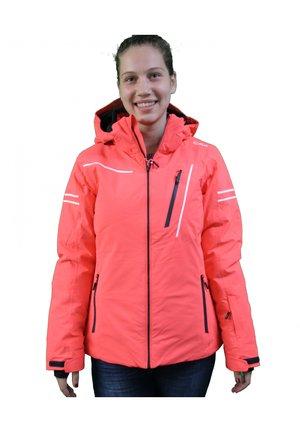 ANORAK - Winter jacket - red fluo