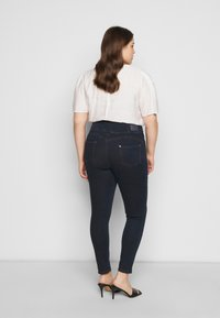 Simply Be - SHAPE SCULPT SUPER HIGH WAIST  - Jeans Skinny Fit - dark indigo - 2