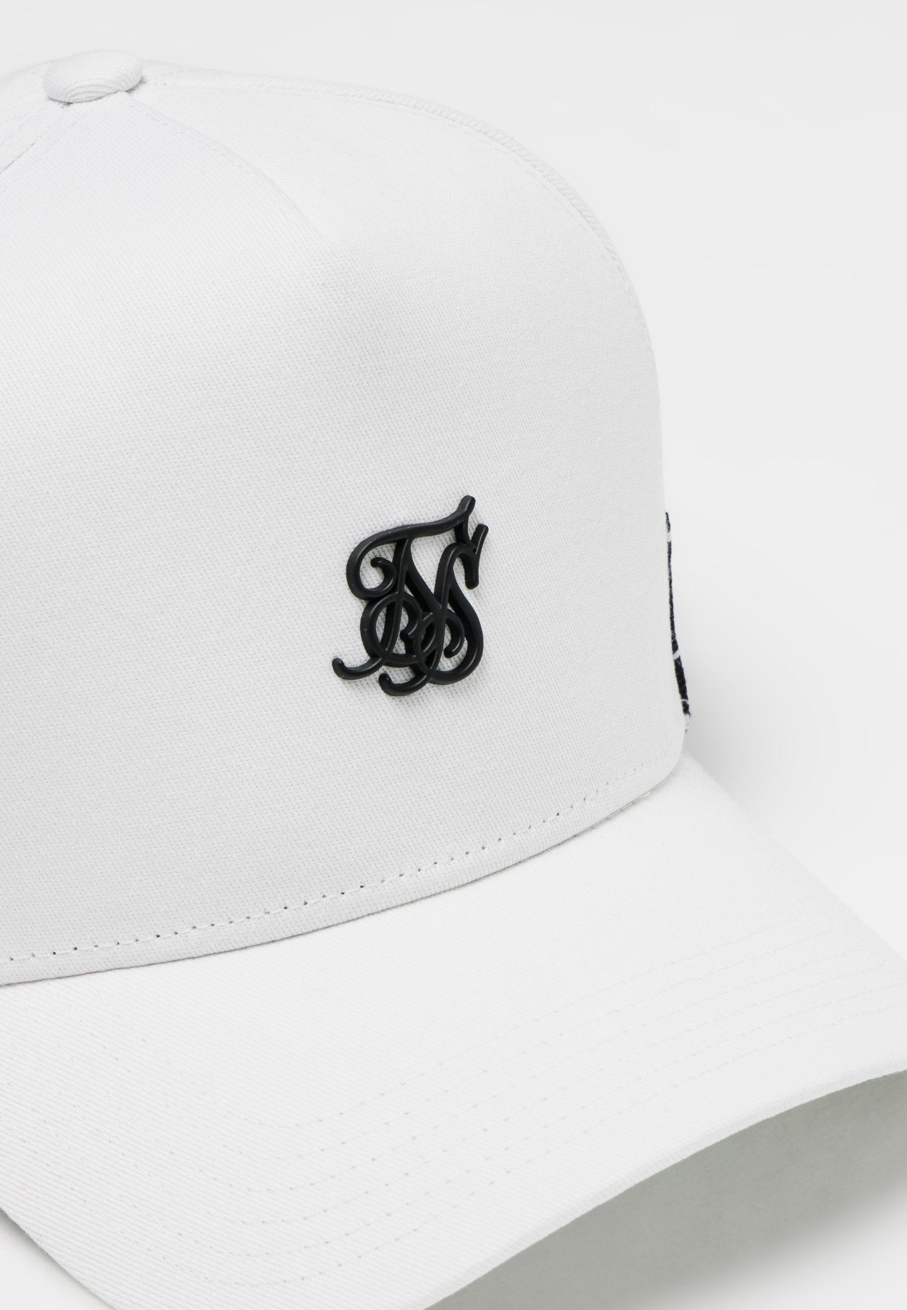 Siksilk Cap - White/weiß