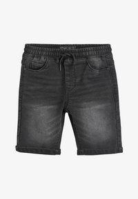Next - BLACK JERSEY JEAN SHORTS (3-16YRS) - Denim shorts - black - 0