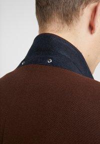 PS Paul Smith - OVERCOAT - Płaszcz wełniany /Płaszcz klasyczny - brown - 4