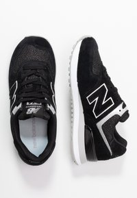 New Balance - WL574 - Sneakers basse - black/grey - 3