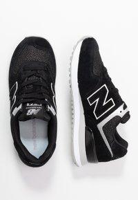 New Balance - WL574 - Zapatillas - black/grey - 3