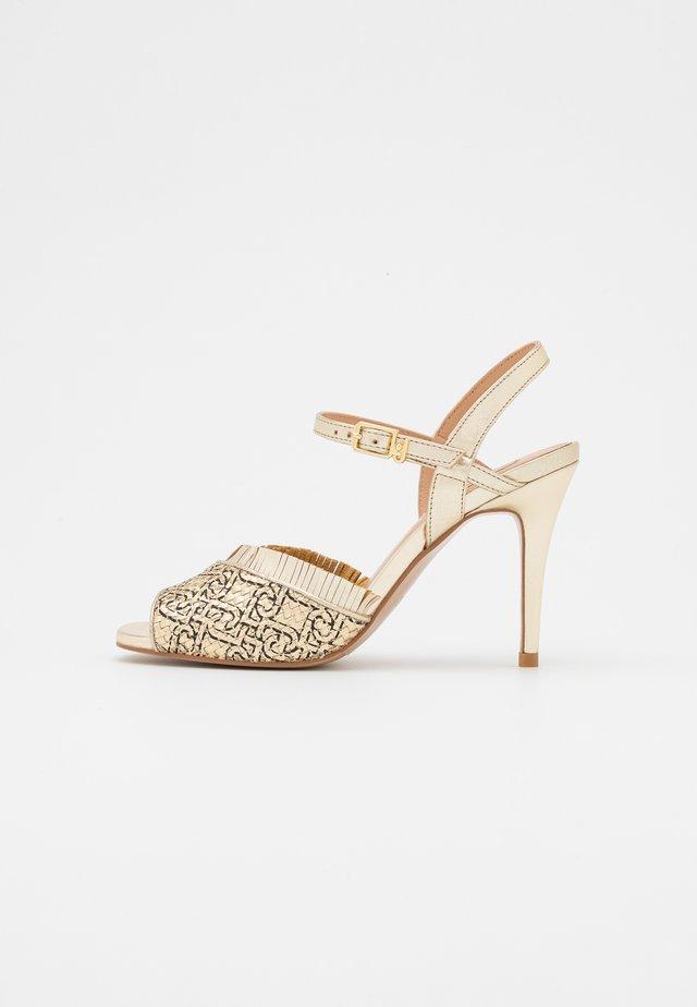 APRIL  - Sandals - light gold