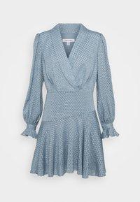 Forever New - DOBBY DRESS - Cocktail dress / Party dress - blue - 0