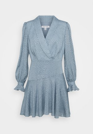 DOBBY DRESS - Robe de soirée - blue