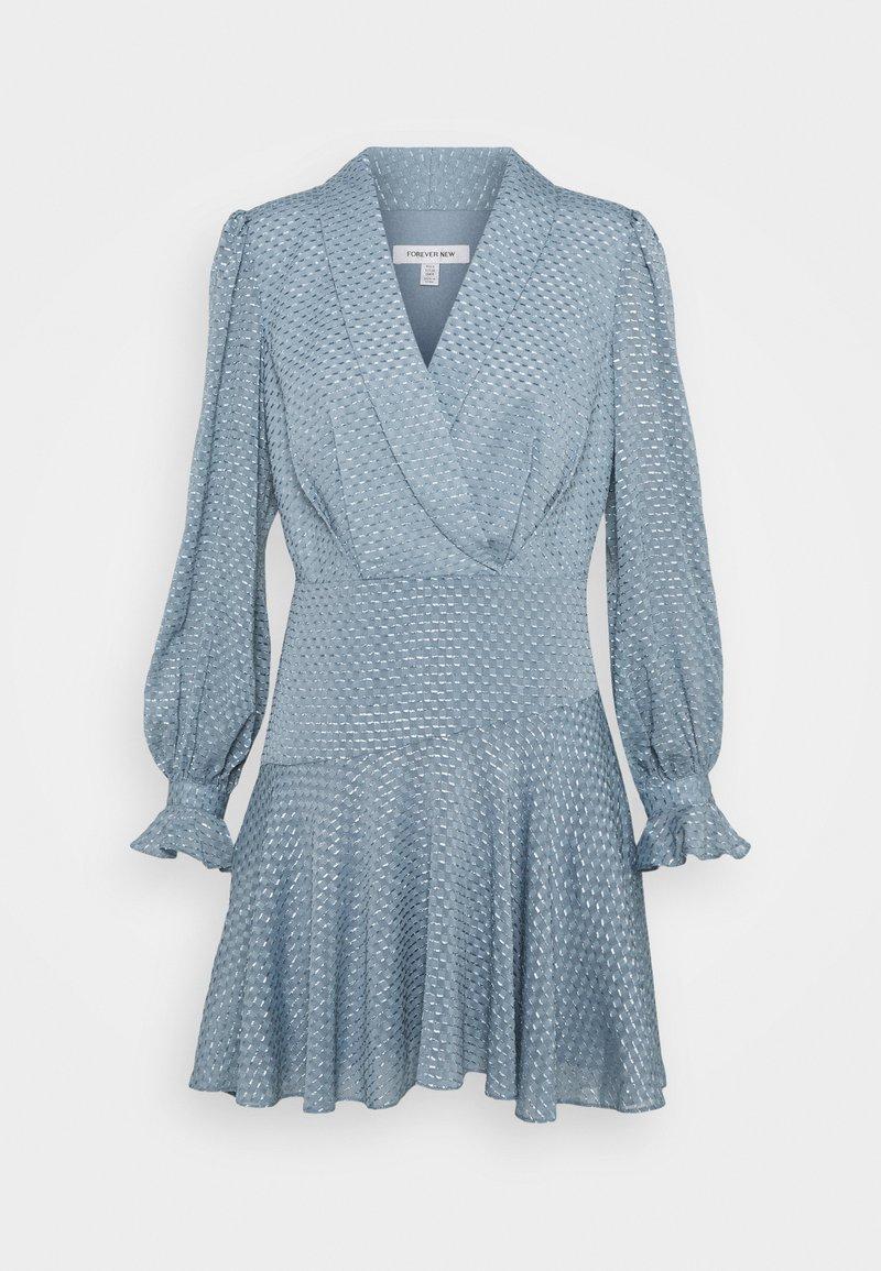 Forever New - DOBBY DRESS - Cocktail dress / Party dress - blue