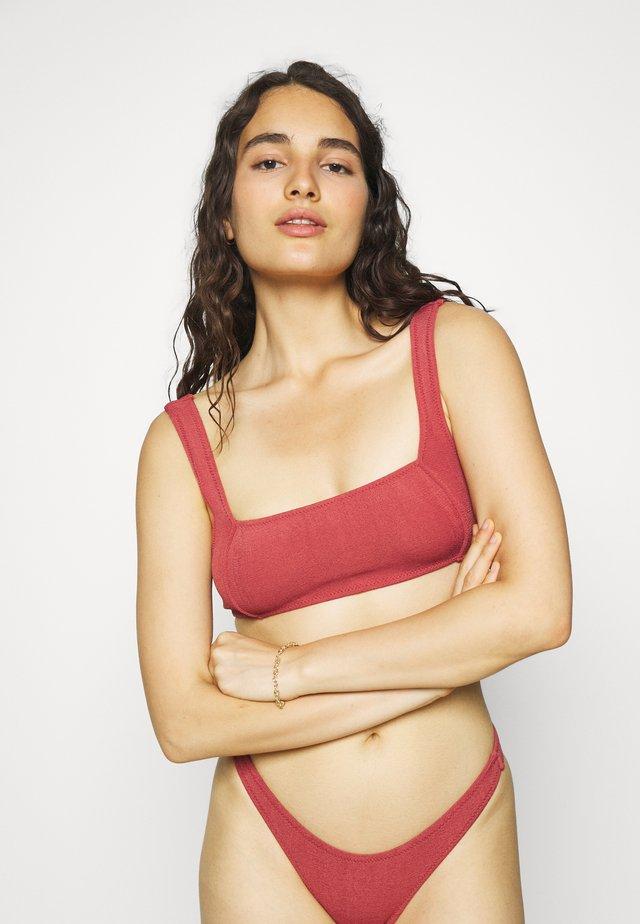 THE BRANDO - Bikiniöverdel - sienna