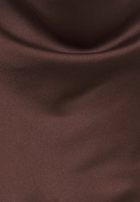Missguided Tall - CAMI COWL SLIP DRESS - Cocktail dress / Party dress - chocolate - 2