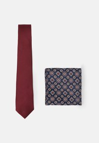 Burton Menswear London - EPP AND GEO SET - Solmio - burgundy - 1