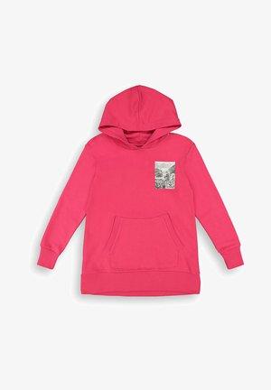 Hoodie - dark pink