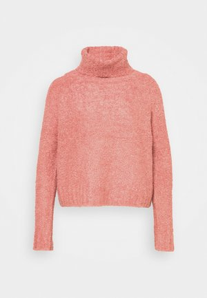 ONLOLIVIA LOOSE ROLLNECK  - Jumper - blush