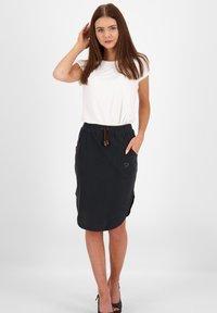 alife & kickin - HOLLYAK  - A-line skirt - moonless - 1