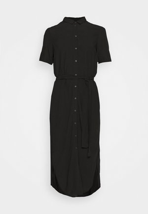 PCCECILIE DRESS - Skjortekjole - black