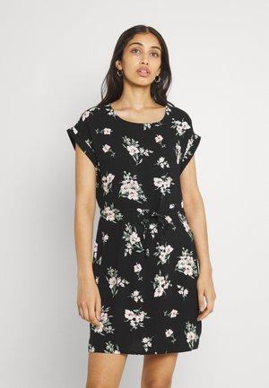 VMSIMPLY EASY SHORT DRESS  - Kjole - black/sandy