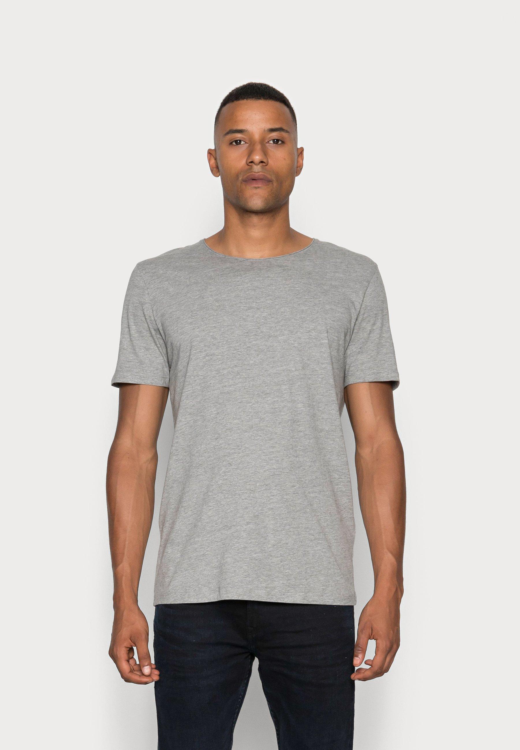Herren SLHLUKE O-NECK TEE - T-Shirt basic