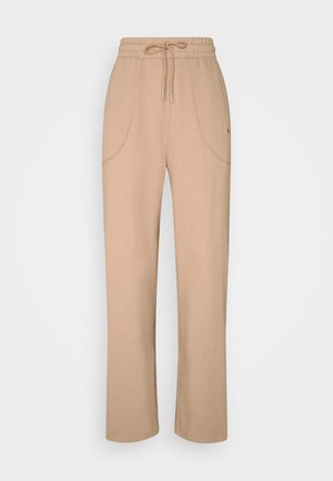 HER WIDE PANTS - Pantalones deportivos - brush