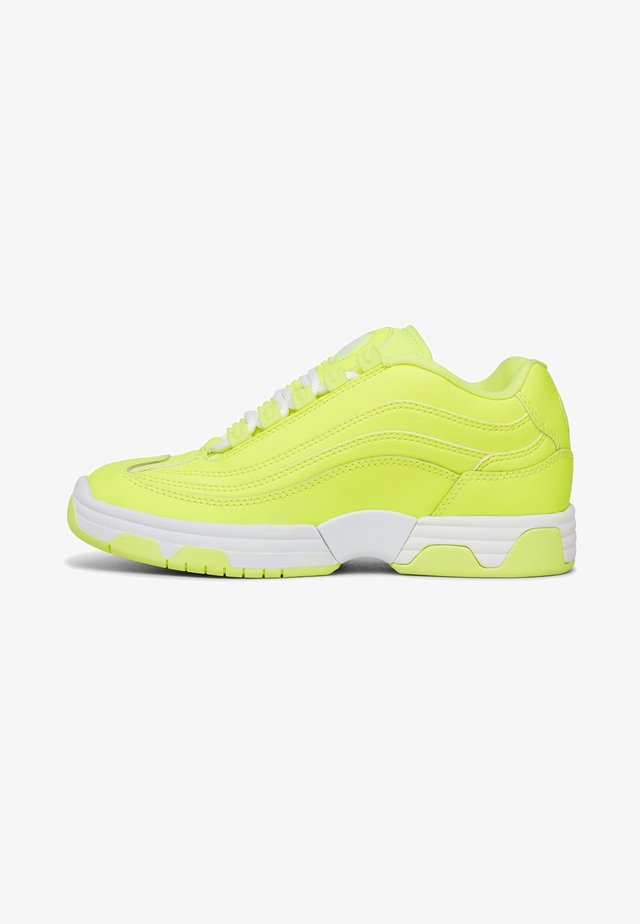 Trainers - bright yellow
