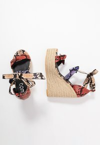 EGO - TINKER - Sandalen met plateauzool - multicolor - 3
