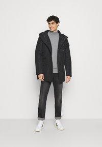 Schott - HARRISS - Winter coat - black - 1