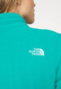 The North Face - WOMENS BLOCKED - Fleecepullover - jaiden green/black - 5