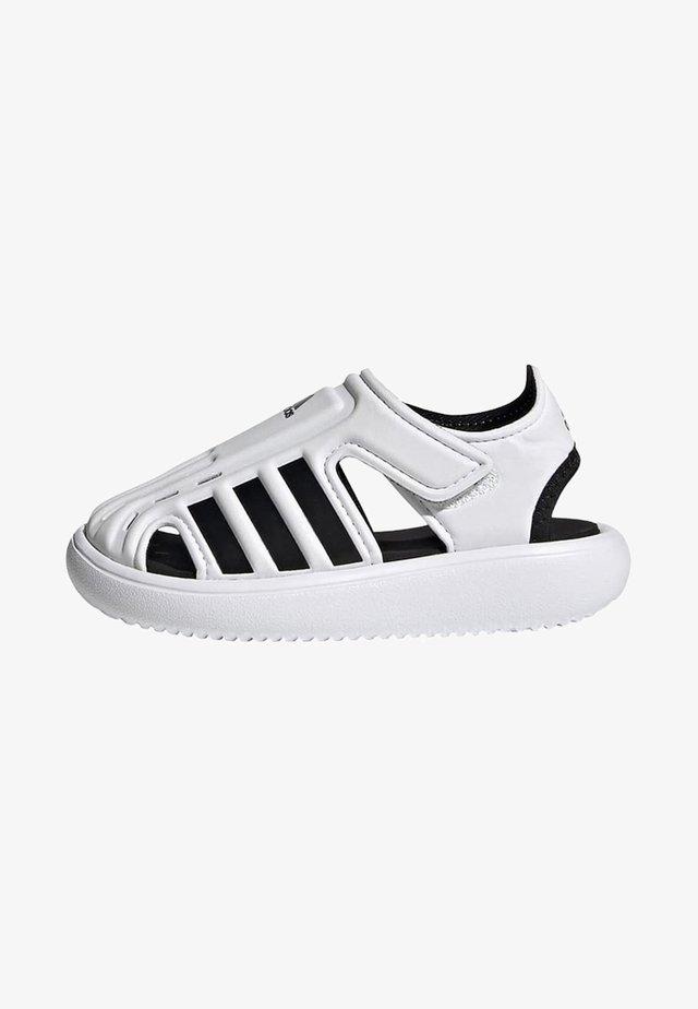 Walking sandals - white