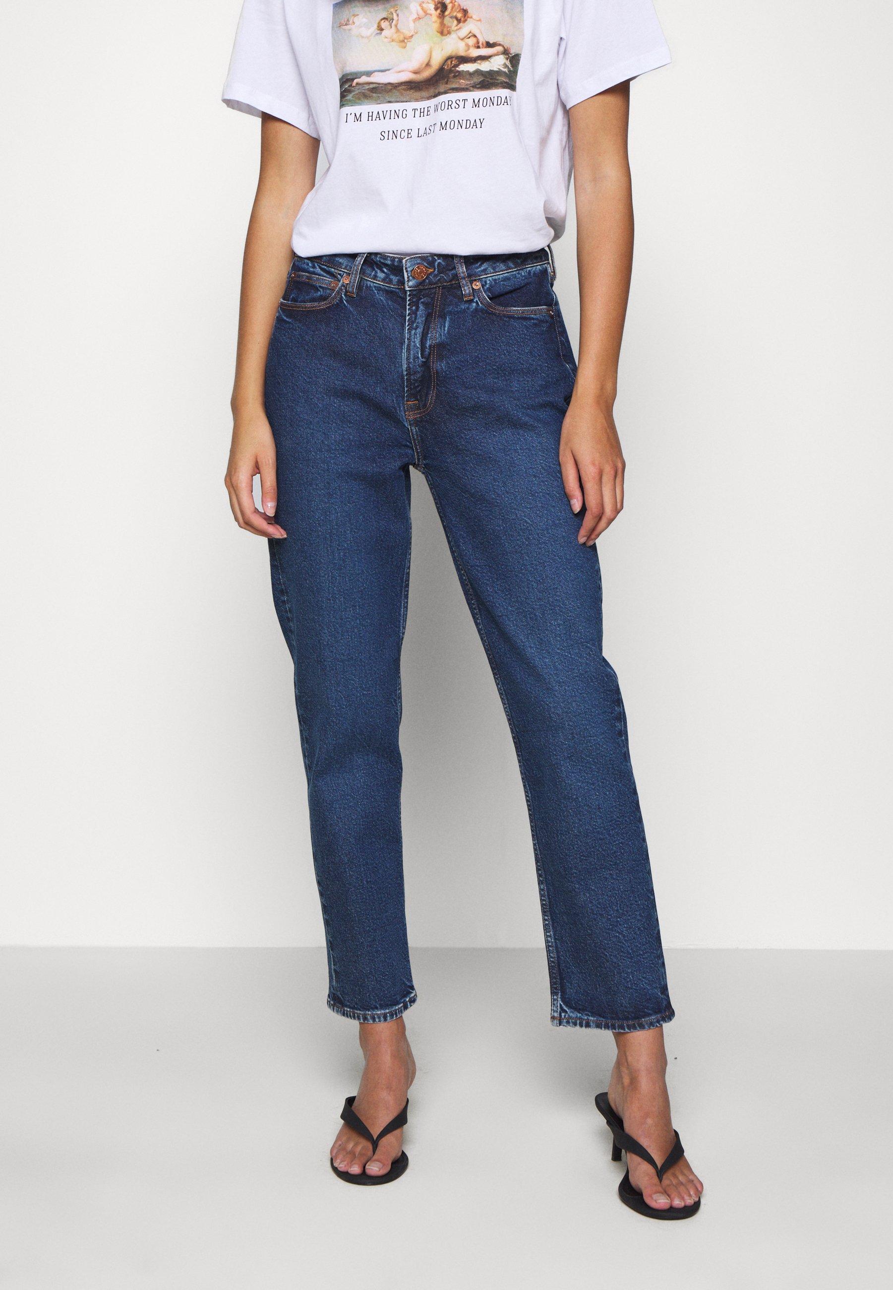 Samsøe Samsøe MARIANNE  - Jeans straight leg - blue denim