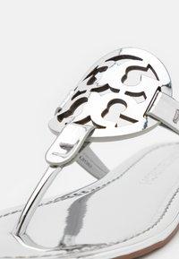 Tory Burch - MILLER - T-bar sandals - silver - 6
