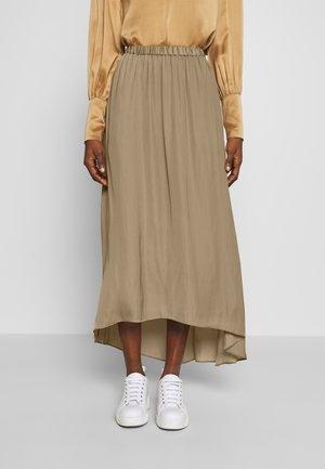 TANDRA - Plisovaná sukně - twig
