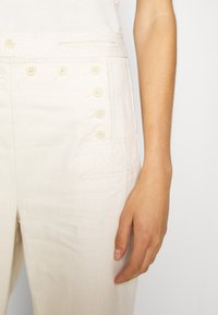 Tory Burch - SAILOR PANT - Trousers - natural - 4