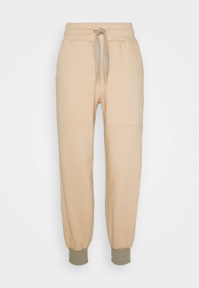 Tracksuit bottoms - soft powder/light brown