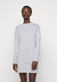 Missguided Tall - BASIC DRESS 2 PACK - Jersey dress - grey marl - 3