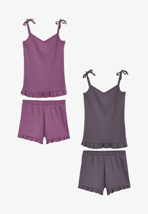 2 PACK - Pyjama - purple