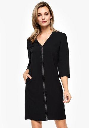 MIT ZIERPERLEN - Day dress - black