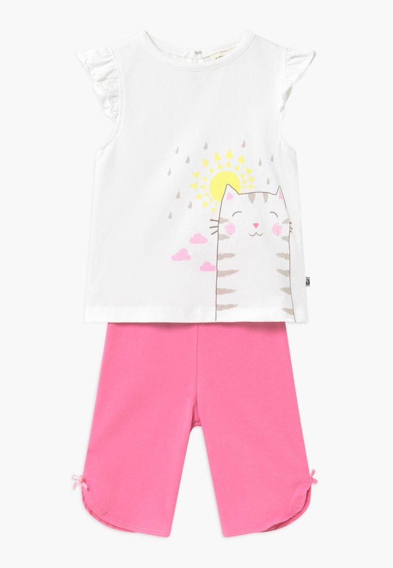 Jacky Baby - RAIN OR SHINE SET - Trousers - weiß