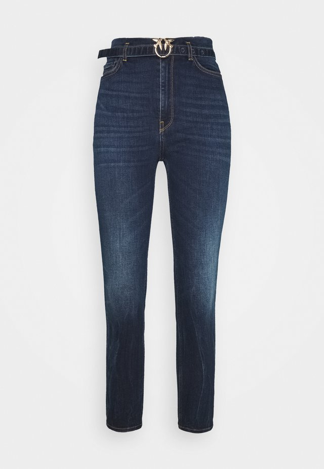 SUSAN 8 TROUSERS - Jeans Skinny - blue