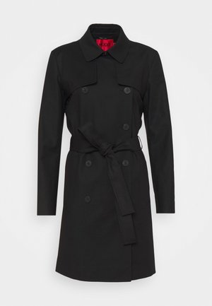 MAKARAS - Trenchcoat - black