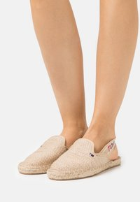 Tommy Jeans - RAINBOW BRANDING - Espadrilles - natural - 0