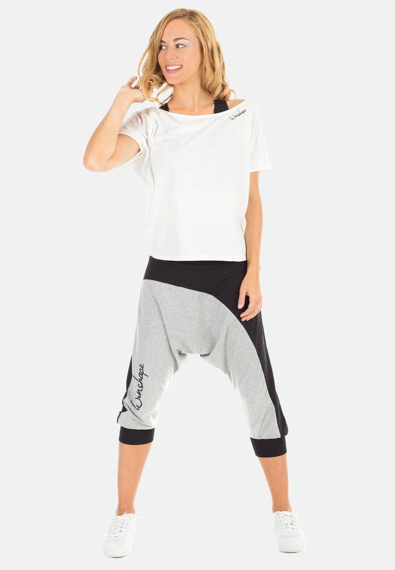 Winshape - MCT002 ULTRA LIGHT - Print T-shirt - vanilla