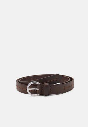 SARINA - Belt - maroon brown