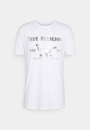 CORE LOGO TEE - Print T-shirt - white