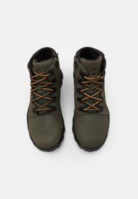 Timberland - BROOKLYN HIKER UNISEX - Lace-up ankle boots - grape leaf - 3