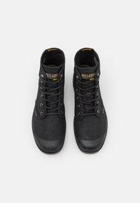 Palladium - PAMPA HI WAX UNISEX - Lace-up ankle boots - black - 3