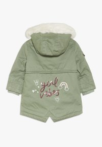 mothercare - BABY PADDED WITH TRIMS - Winter coat - khaki - 1
