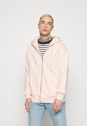 UNISEX - Mikina na zip - pink
