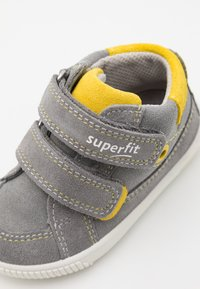 Superfit - MOPPY - Touch-strap shoes - grau/gelb - 5